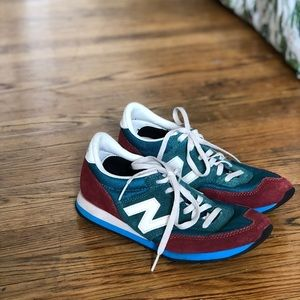 Tri-color New Balance sneakers